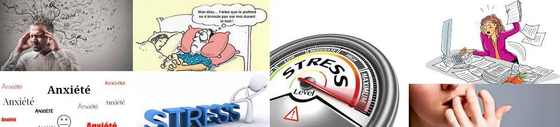 Stress, Anxiété, Angoisse, Insomnie